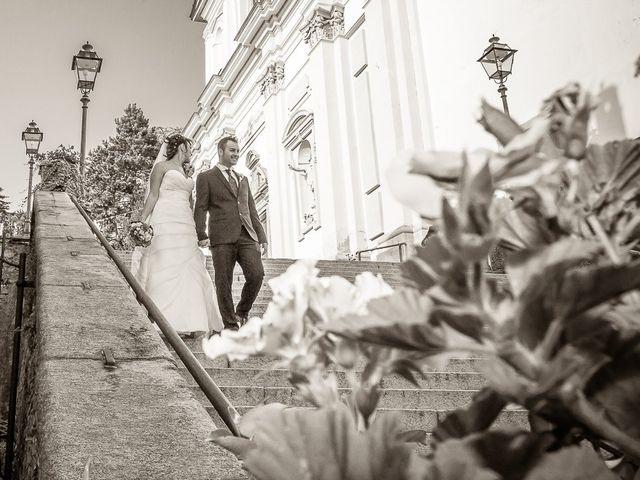 Il matrimonio di Alessandro e Carolina a Besozzo, Varese 32