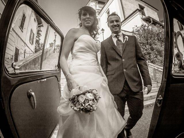 Il matrimonio di Alessandro e Carolina a Besozzo, Varese 33