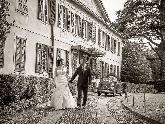 Il matrimonio di Alessandro e Carolina a Besozzo, Varese 35