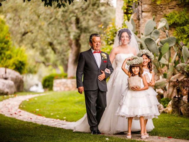 Il matrimonio di Gianluca e Pamela a Casaprota, Rieti 15