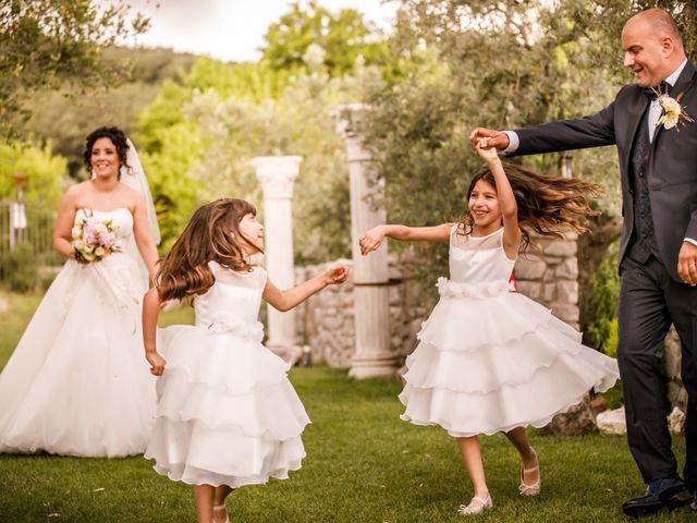 Il matrimonio di Gianluca e Pamela a Casaprota, Rieti 32