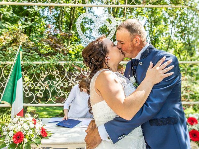 Il matrimonio di Stefano e Marcela a Belfiore, Verona 112