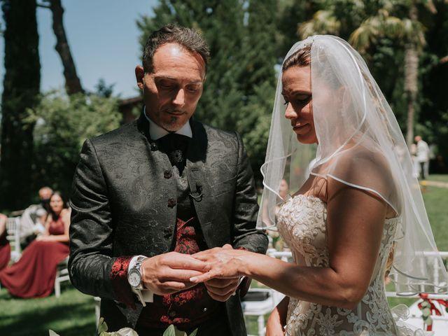 Il matrimonio di Francesco e Tamara a Grottaferrata, Roma 32