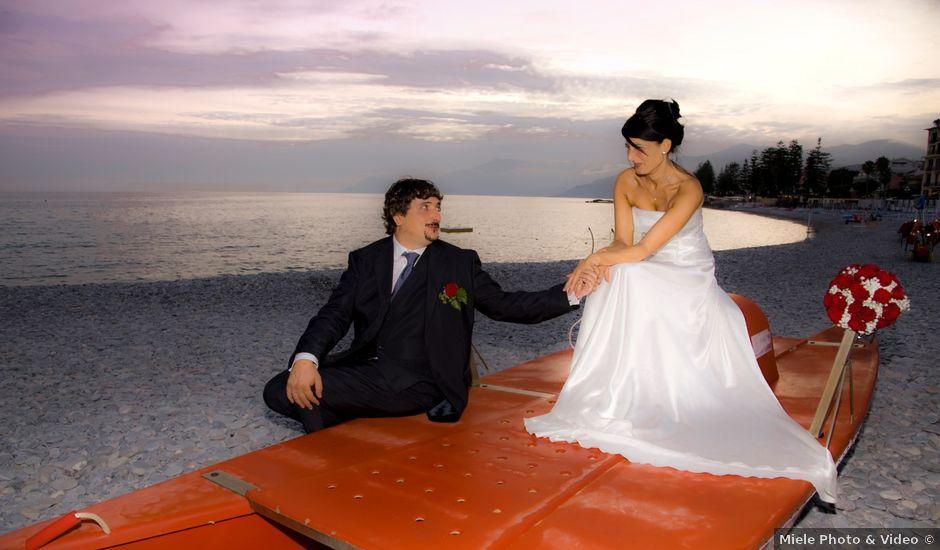 Il matrimonio di Daniela e Riccardo a Vallecrosia, Imperia