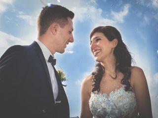 Le nozze di Lara e Tony