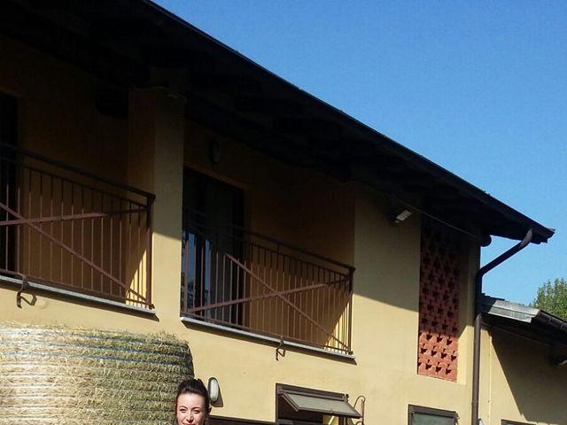 Il matrimonio di Mattia e Agnese a Galliate Lombardo, Varese 4