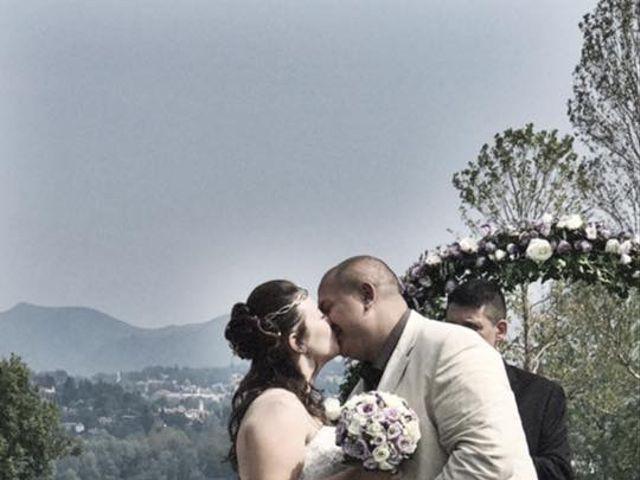 Il matrimonio di Mattia e Agnese a Galliate Lombardo, Varese 5