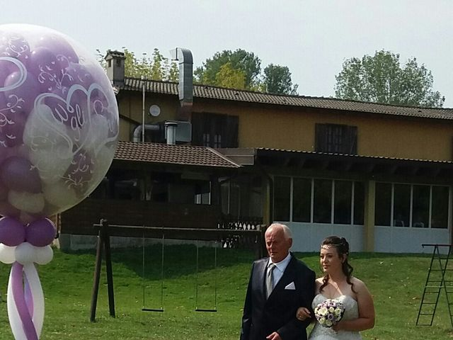 Il matrimonio di Mattia e Agnese a Galliate Lombardo, Varese 6