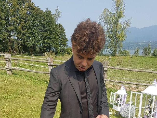Il matrimonio di Mattia e Agnese a Galliate Lombardo, Varese 14