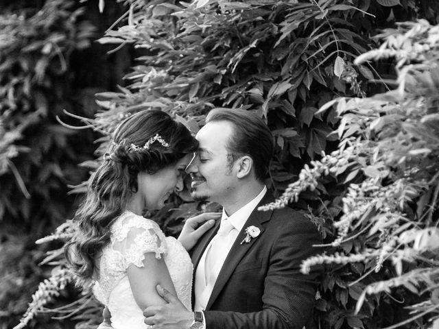 le nozze di Adriana e Michele