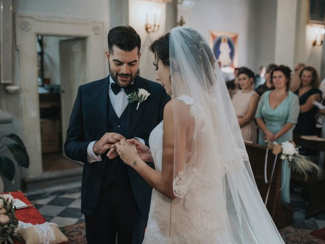 Il matrimonio di Giulio e Laura a Montecatini Val di Cecina, Pisa 4
