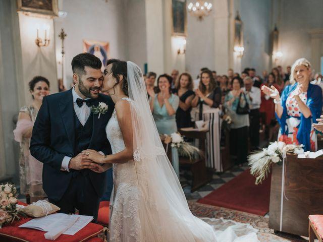 Il matrimonio di Giulio e Laura a Montecatini Val di Cecina, Pisa 5