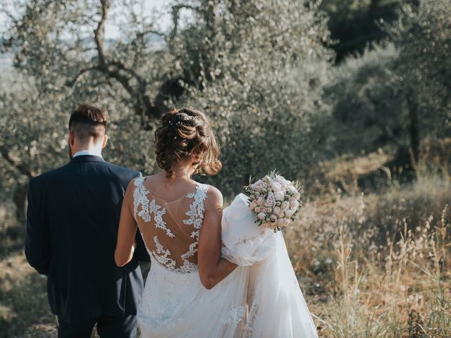 Il matrimonio di Giulio e Laura a Montecatini Val di Cecina, Pisa 13