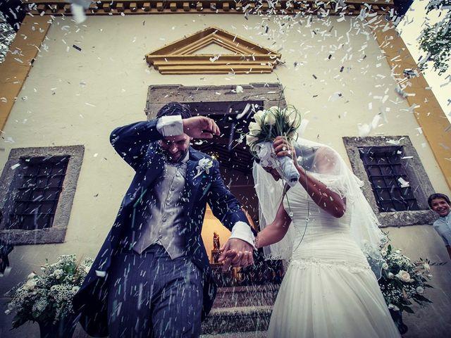 Il matrimonio di Luca e Valentina a Manziana, Roma 9