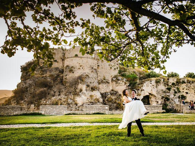 Il matrimonio di Carrie e Francesco a Gerace, Reggio Calabria 17