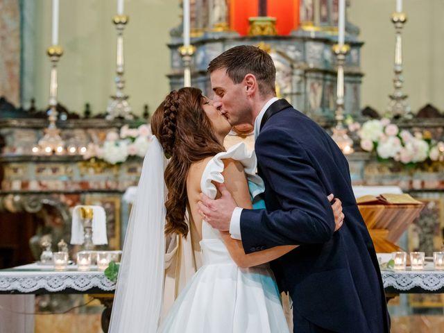Il matrimonio di Alberto e Alice a Beregazzo con Figliaro, Como 23