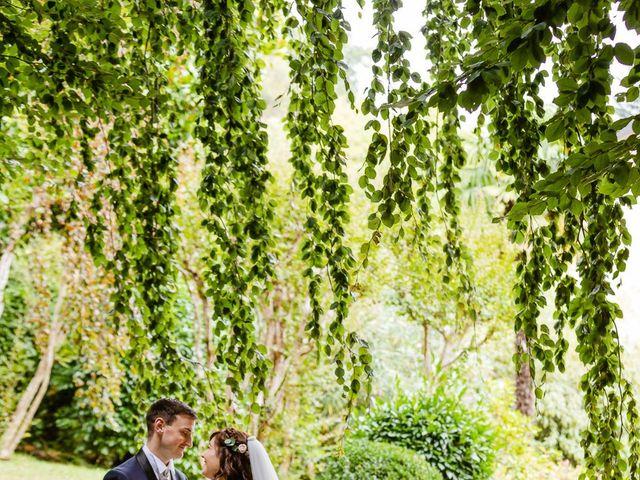 Il matrimonio di Alberto e Alice a Beregazzo con Figliaro, Como 30