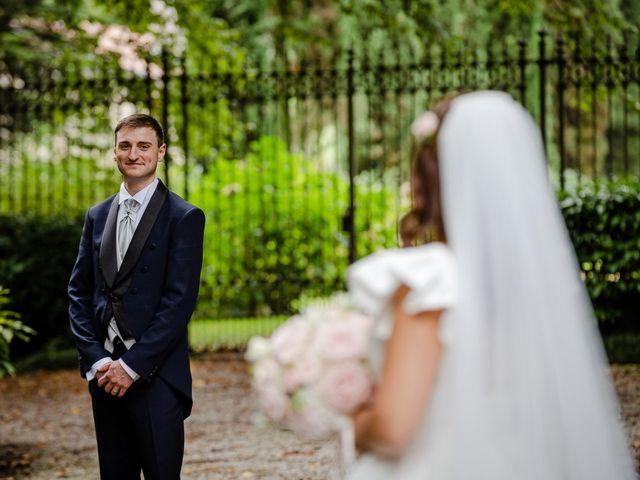 Il matrimonio di Alberto e Alice a Beregazzo con Figliaro, Como 35