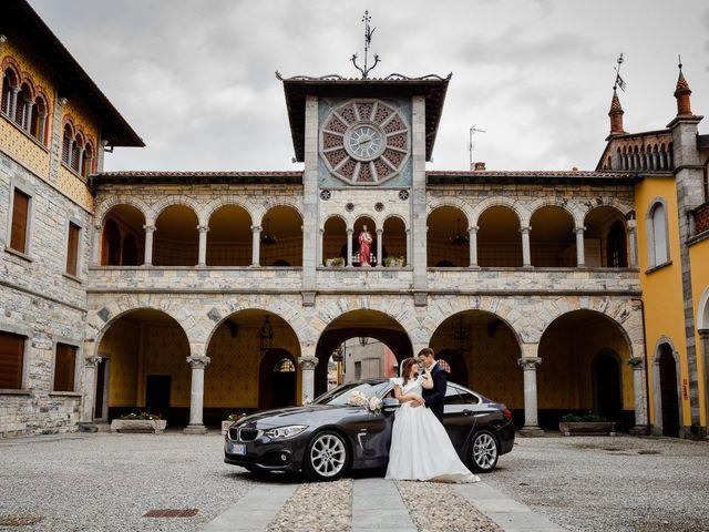Il matrimonio di Alberto e Alice a Beregazzo con Figliaro, Como 36