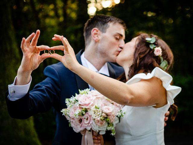 Il matrimonio di Alberto e Alice a Beregazzo con Figliaro, Como 43