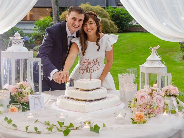Il matrimonio di Alberto e Alice a Beregazzo con Figliaro, Como 44