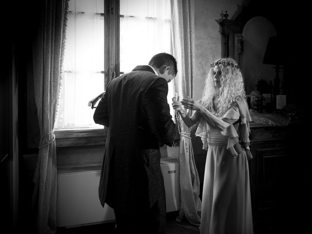 Il matrimonio di Simone e Alice a Bevilacqua, Verona 17