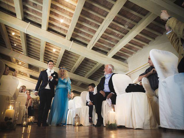 Il matrimonio di Simone e Alice a Bevilacqua, Verona 41