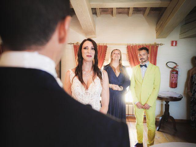 Il matrimonio di Simone e Alice a Bevilacqua, Verona 45