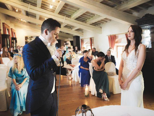 Il matrimonio di Simone e Alice a Bevilacqua, Verona 51