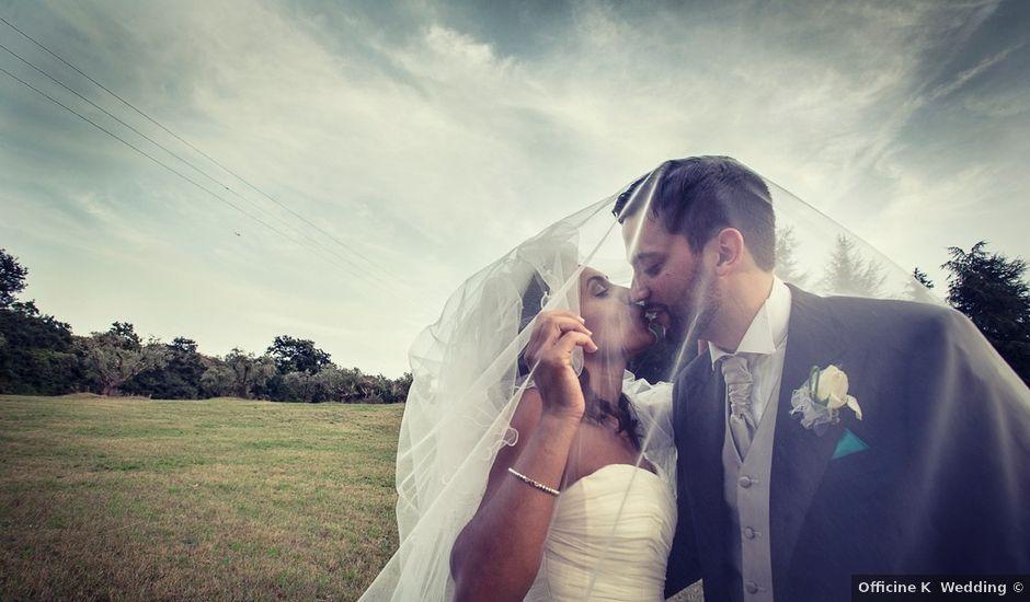 Il matrimonio di Luca e Valentina a Manziana, Roma