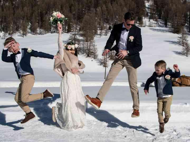 Le nozze di Nadine e Christoper