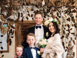 Le nozze di Nadine e Christoper 1