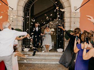 Le nozze di Giliana Sinibaldi  e Pietro Damioli  1