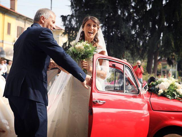 Il matrimonio di Alessandro e Federica a Barengo, Novara 12
