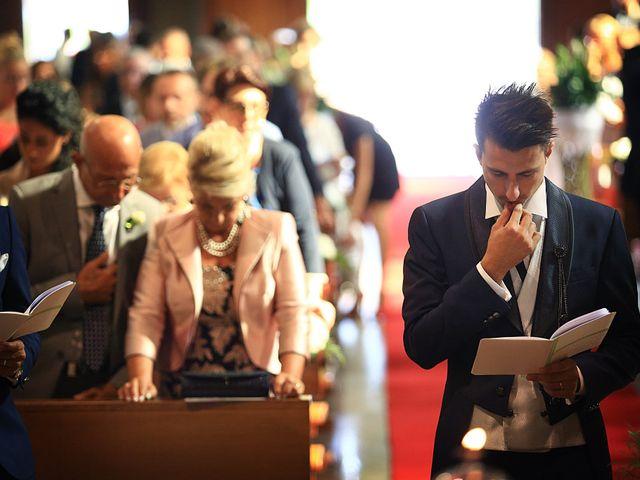 Il matrimonio di Alessandro e Federica a Barengo, Novara 17
