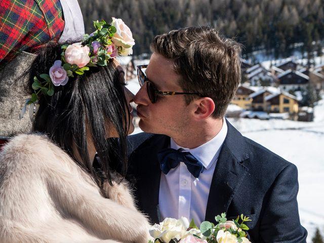 Il matrimonio di Christoper e Nadine a Livigno, Sondrio 4