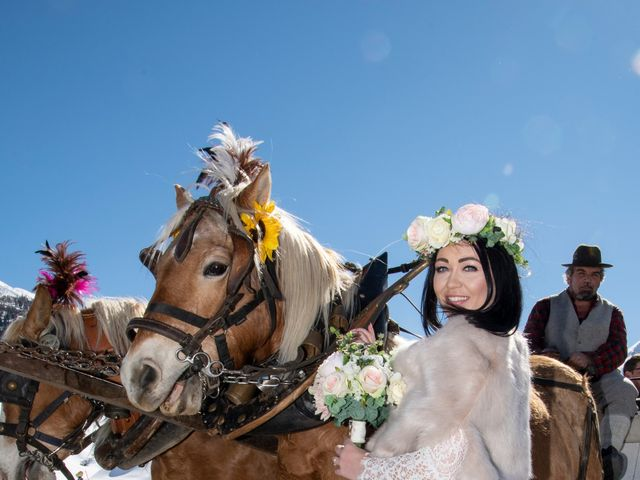 Il matrimonio di Christoper e Nadine a Livigno, Sondrio 6