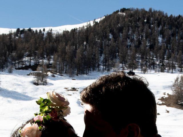 Il matrimonio di Christoper e Nadine a Livigno, Sondrio 18