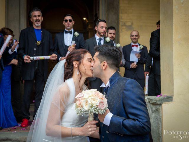 Il matrimonio di Giuseppe e Xenia a Cerreto Guidi, Firenze 23