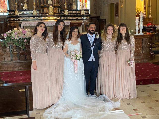 Il matrimonio di Domenico  e Stefania a Carpiano, Milano 5
