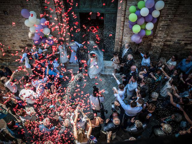 Il matrimonio di Andrea e Romina a Montecassiano, Macerata 2