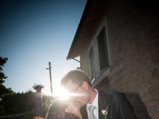 Il matrimonio di Andrea e Romina a Montecassiano, Macerata 43