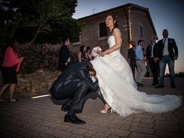 Il matrimonio di Andrea e Romina a Montecassiano, Macerata 45
