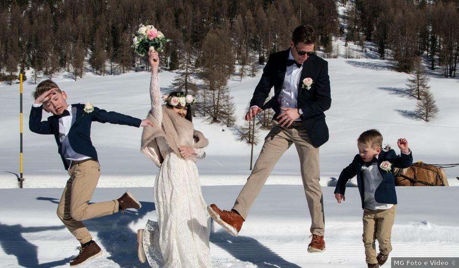 Il matrimonio di Christoper e Nadine a Livigno, Sondrio