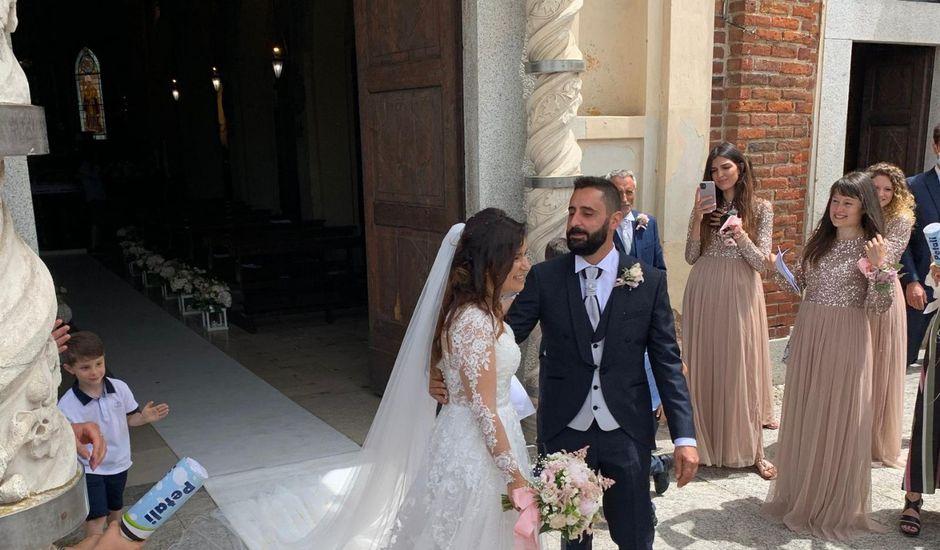 Il matrimonio di Domenico  e Stefania a Carpiano, Milano