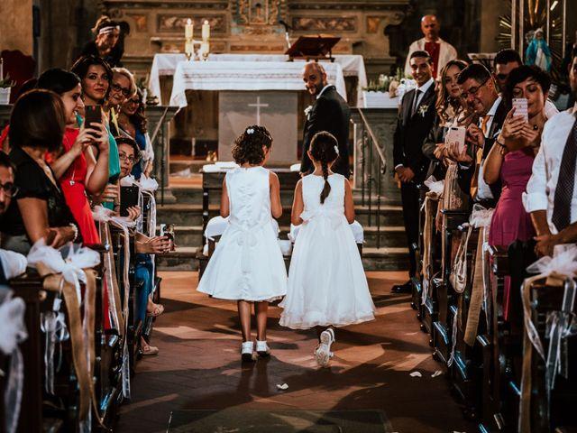Il matrimonio di Damiano e Ramona a Pescia, Pistoia 24