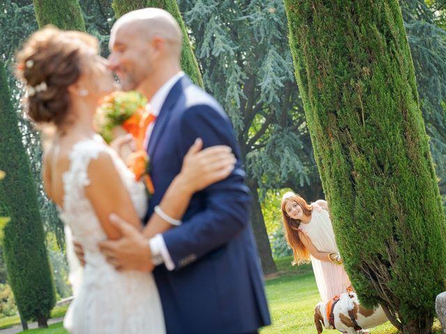 Il matrimonio di Lorenzo e Michela a Malnate, Varese 34