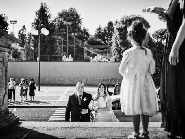 Il matrimonio di Simone e Chiara a Albizzate, Varese 6