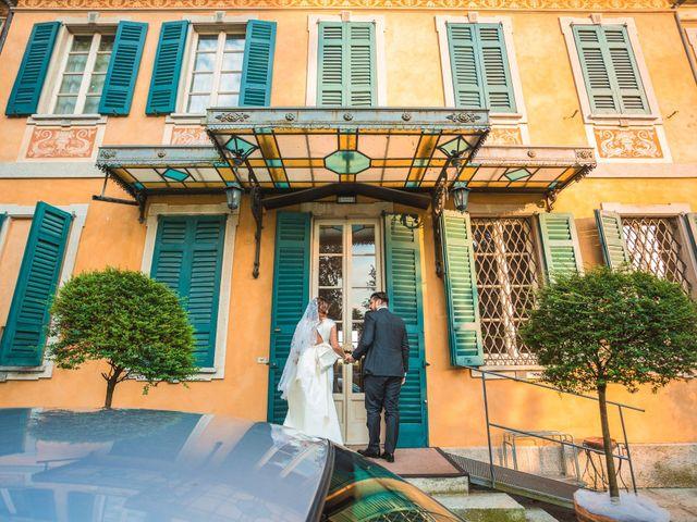 Il matrimonio di Simone e Chiara a Albizzate, Varese 17