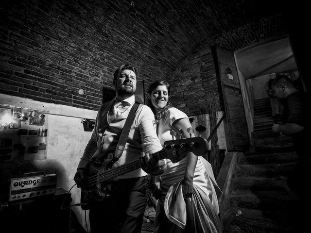 Il matrimonio di Simone e Chiara a Albizzate, Varese 34